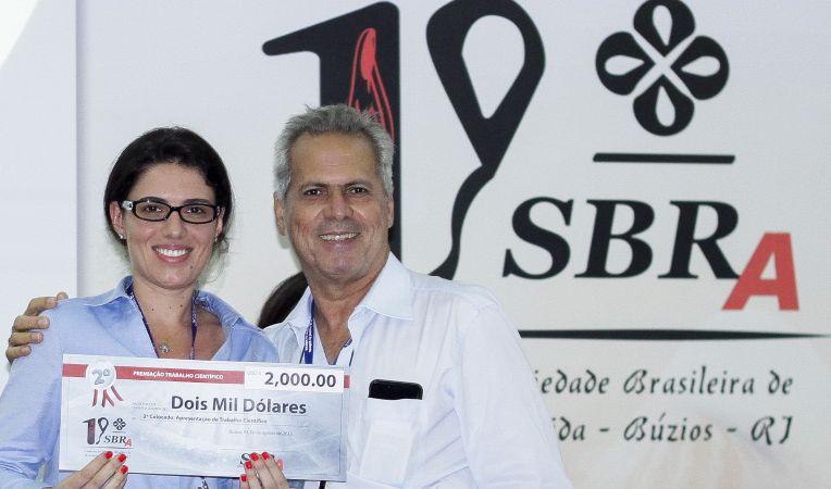 Premiação SBRA 2o. lugar